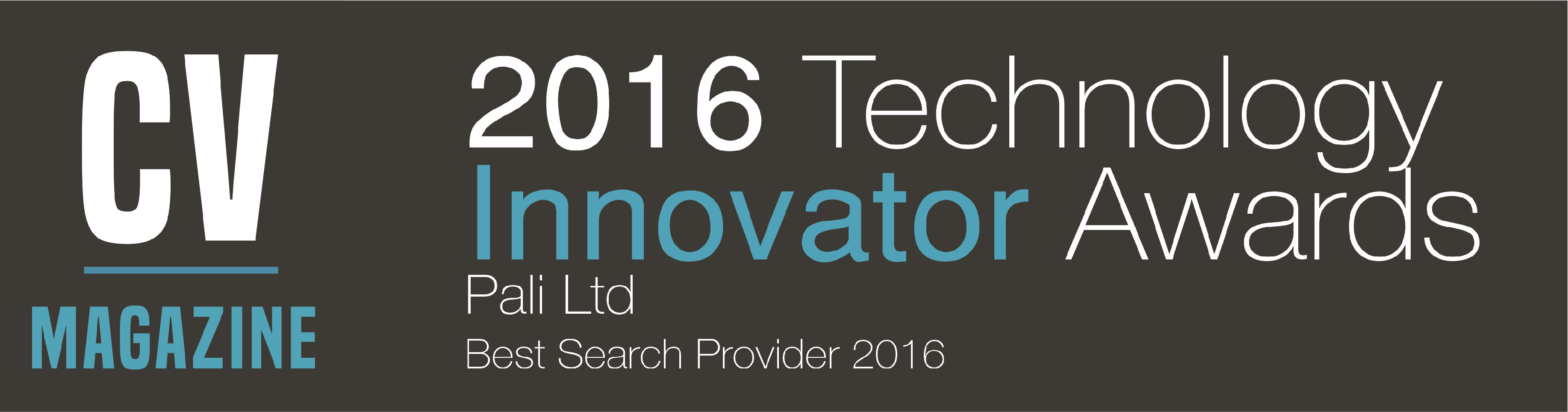 Technology Innovator Awards - Best Conveyancing Search Provider 2016
