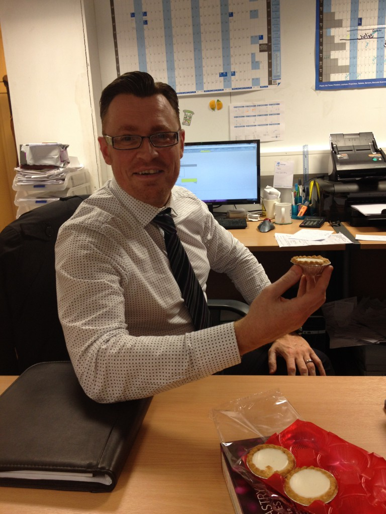 Pali HQs Mince Pie Competition - The Results!